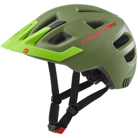 Cratoni Maxster Pro Helmet Dzieci, jungle/green matte